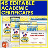 45 Editable Academic Awards - End of the Year Awards