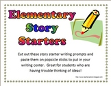 42 Elementary Story Starters for Writing
