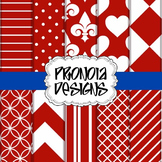 42 4th of July Red Background Papers & Textures
