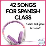 42 Fun Songs For Spanish Class (Mp3)
