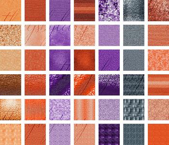 42 Halloween Shimmer Luxury Glitter Digital Papers