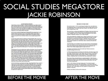 42 Jackie Robinson Movie Guide - Medium Version