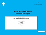 Math Word Problem Cards( Money, Time, Addition, Subtraction)