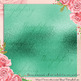 42 Mint and Teal Metallic Foil Texture Digital Papers