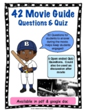 42 Movie Guide Questions and Quiz