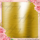 42 New Bright Gold Metallic Texture Papers