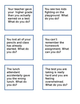 42 Pragmatic Scenarios for Middle & High School