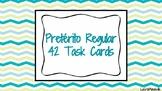 42 Regular Preterite Verb Task Cards