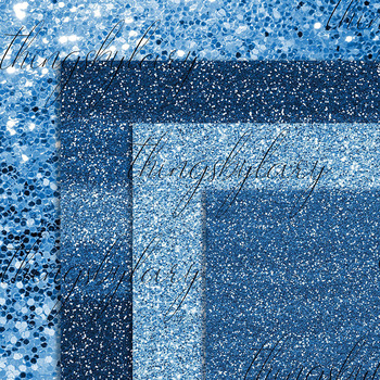 42 Royal Blue Luxury Shimmer Glitter Digital Papers