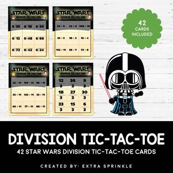 42 Star Wars Inspired Division Tic Tac Toe Games