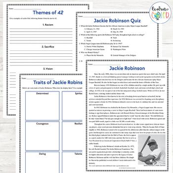 42: The Jackie Robinson Story Movie Guide