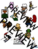 42 clip art images in both color and black and white. VERBS