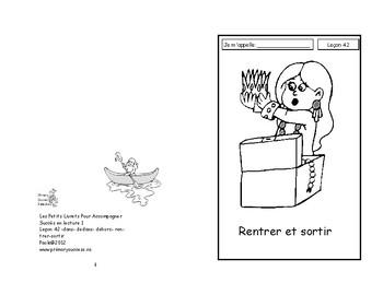 42) rentrer et sortir - livret de lecture ENFANT C1 1ère-2e