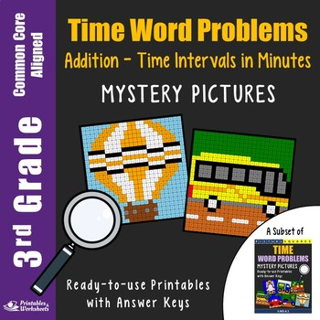3rd Grade Adding Time, Time Interval in Minutes