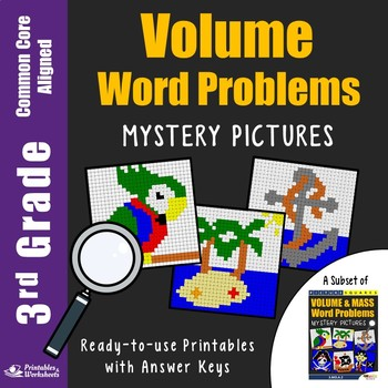 3rd Grade Volume Word Problems