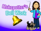 429 slides of Daily Bell work/Warmups/Bell Ringers for English