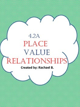 4.2A- Place value relationships