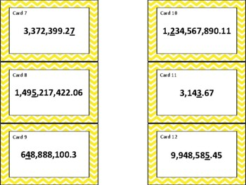4.2B & CC 4.NBT.A.1 and 4.NF.C.7  Place Value of Whole Numbers and Decimals