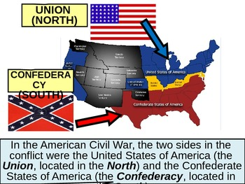 x U.S. HISTORY American Civil War Test Review POWERPOINT