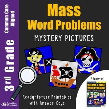 3rd Grade Mass Word Problems