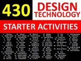 430 Design Technology Woodwork Shop Tools Starter Settler