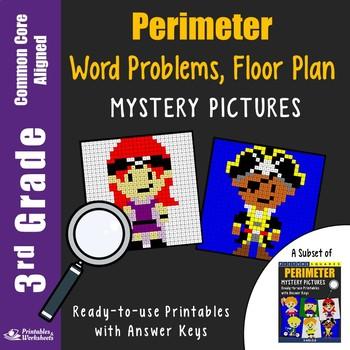 3rd Grade Perimeter Word Problems, Floor Layout