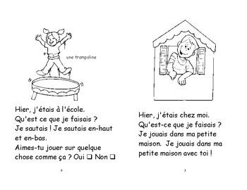 44-45) Hier et aujourd'hui - livret de lecture ENFANT C1 1ère-2e