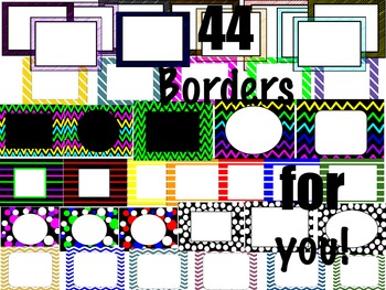 44 Borders for you!