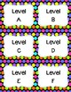 44 Library Book Bin Labels (Genre, Pictures, & Levels)  Polka Dot Theme Decor