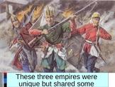 UNIT 8 LESSON 1. Muslim Gunpowder Empires POWERPOINT