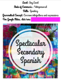 44 Printable Expressions and Interjections for Spanish Con