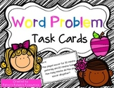 44 Word Problem Task Cards