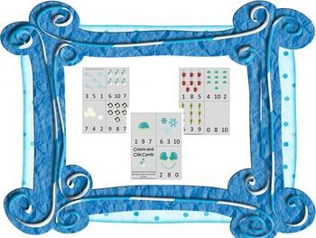44 preschool curriculum games.  Winter, Spring, Summer, Fall themes.  Daycare.