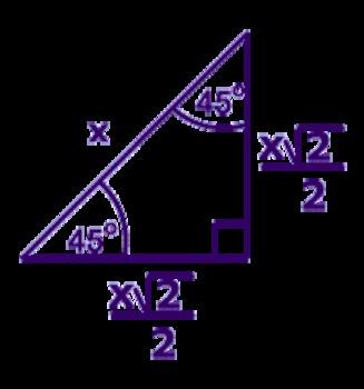 45-45-90 Triangles