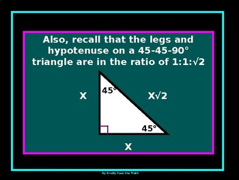 Bundle Lab:  45-45-90 and 30-60-90 Triangle Puzzle and 45-45-90 Circle Puzzle