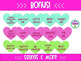 45 Conversation Candy Heart Clipart Graphics