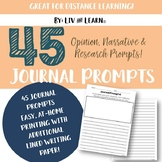 45 Daily Journal Prompts!