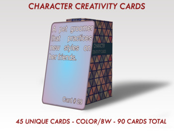 45 Deluxe Character Creation Cards