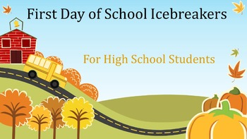 45 First Day of School Icebreakers for High School Students