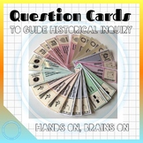 45 HINGE POINT QUESTION CARDS to GUIDE INQUIRY in HISTORY