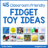 45 Ideas For Classroom Friendly Fidget Toys