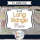 ONTARIO: 4/5 Long Range Plans