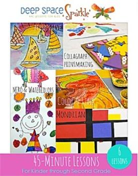 45-Minute Art Lessons K-2