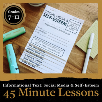 Common core resources lesson plans ccss ri9 107 45 minute lesson informational text foldable the media self esteem fandeluxe Image collections