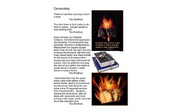 45 Page--Fahrenheit 451 Teacher/Student Guide to Ray Bradbury
