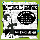 45 Phonics Revision Activities: Vowel Sounds: /eɪ/ and /iː
