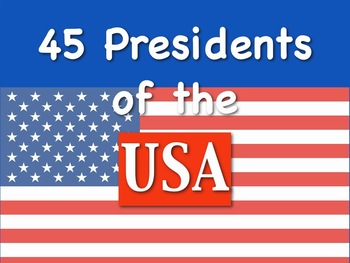 45 Presidents Test Song Sing-Along mp4 Video by Kathy Troxel
