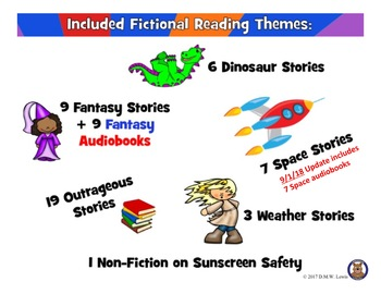 45 Summer Reading Comprehension Passages: Fun Reading Comprehension Mix