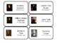 45 US Presidents Printable Flashcards. Preschool-Elementary History.