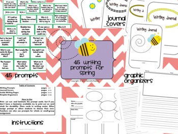 45 Writing Prompts for Spring